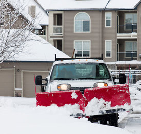 Snow removal services Boston